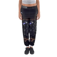 City At Night Lights Skyline Women s Jogger Sweatpants