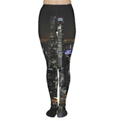 City At Night Lights Skyline Women s Tights