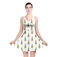 Christmas Tree Reversible Skater Dress