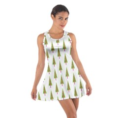 Christmas Tree Cotton Racerback Dress