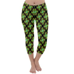 Computer Graphics Graphics Ornament Capri Winter Leggings