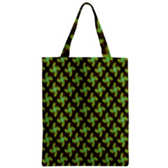 Computer Graphics Graphics Ornament Zipper Classic Tote Bag