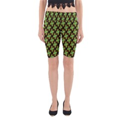 Computer Graphics Graphics Ornament Yoga Cropped Leggings