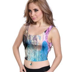 Peelingpaint Crop Top