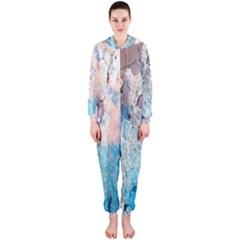 Peelingpaint Hooded Jumpsuit (Ladies)