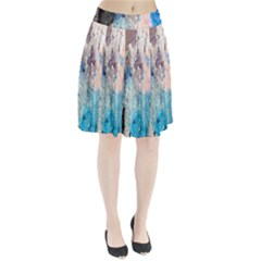 Peelingpaint Pleated Skirt