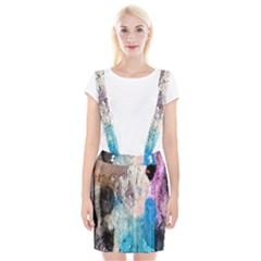 Peelingpaint Suspender Skirt