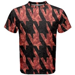 Dogstooth Pattern Closeup Men s Cotton Tee