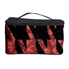 Dogstooth Pattern Closeup Cosmetic Storage Case