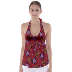Computer Graphics Graphics Ornament Babydoll Tankini Top