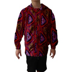 Computer Graphics Graphics Ornament Hooded Wind Breaker (kids)