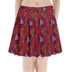 Computer Graphics Graphics Ornament Pleated Mini Skirt