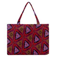 Computer Graphics Graphics Ornament Medium Zipper Tote Bag
