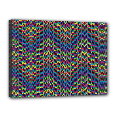 Decorative Ornamental Abstract Canvas 16  x 12