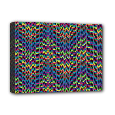 Decorative Ornamental Abstract Deluxe Canvas 16  x 12