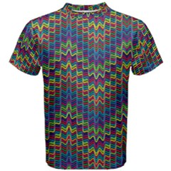 Decorative Ornamental Abstract Men s Cotton Tee