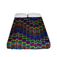 Decorative Ornamental Abstract Fitted Sheet (full/ Double Size)