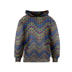 Decorative Ornamental Abstract Kids  Pullover Hoodie