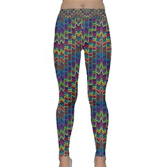 Decorative Ornamental Abstract Classic Yoga Leggings