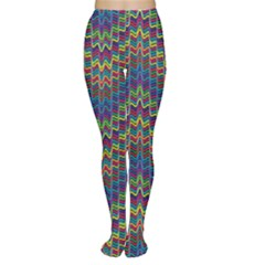 Decorative Ornamental Abstract Women s Tights