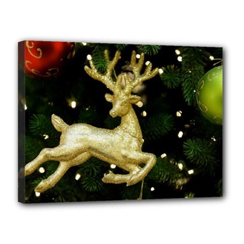 December Christmas Cologne Canvas 16  x 12