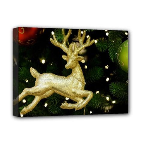 December Christmas Cologne Deluxe Canvas 16  x 12