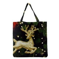 December Christmas Cologne Grocery Tote Bag