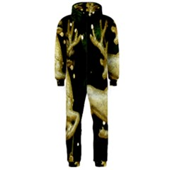 December Christmas Cologne Hooded Jumpsuit (Men)
