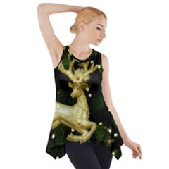 December Christmas Cologne Side Drop Tank Tunic