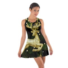 December Christmas Cologne Cotton Racerback Dress
