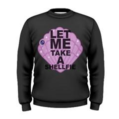 Shellfie Dark Men s Sweatshirt
