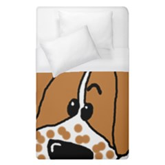 Peeping Brittany Spaniel Duvet Cover (Single Size)