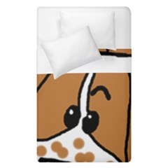 Peeping Brittany Spaniel Duvet Cover Double Side (Single Size)