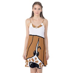 Peeping Brittany Spaniel Camis Nightgown