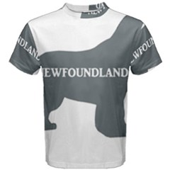 Newfie Name Silo Grey Men s Cotton Tee