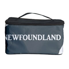 Newfie Name Silo Grey Cosmetic Storage Case