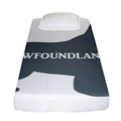 Newfie Name Silo Grey Fitted Sheet (Single Size)