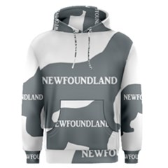 Newfie Name Silo Grey Men s Pullover Hoodie