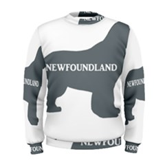 Newfie Name Silo Grey Men s Sweatshirt