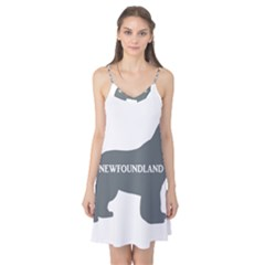 Newfie Name Silo Grey Camis Nightgown