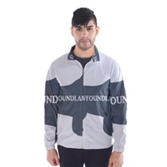Newfie Name Silo Grey Wind Breaker (Men)