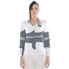 Newfie Name Silo Grey Wind Breaker (Women)
