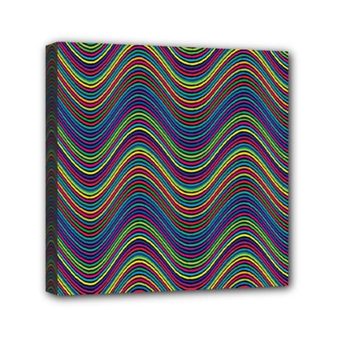 Decorative Ornamental Abstract Mini Canvas 6  x 6