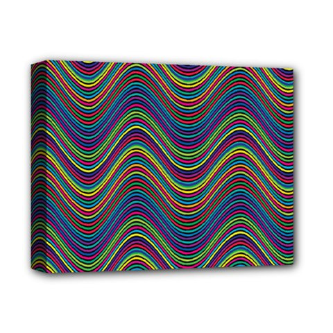 Decorative Ornamental Abstract Deluxe Canvas 14  x 11