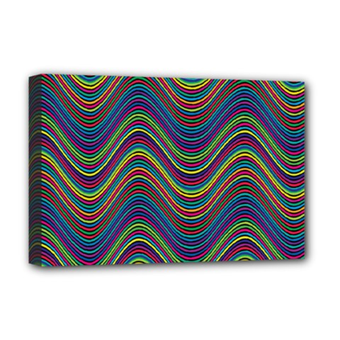 Decorative Ornamental Abstract Deluxe Canvas 18  x 12