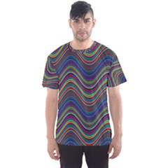 Decorative Ornamental Abstract Men s Sport Mesh Tee