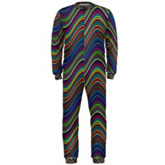 Decorative Ornamental Abstract Onepiece Jumpsuit (men)