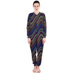 Decorative Ornamental Abstract OnePiece Jumpsuit (Ladies)