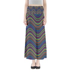 Decorative Ornamental Abstract Maxi Skirts