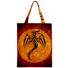 Dragon Fire Monster Creature Classic Tote Bag